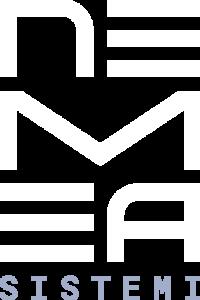 Nemea Sistemi - Logo negativo