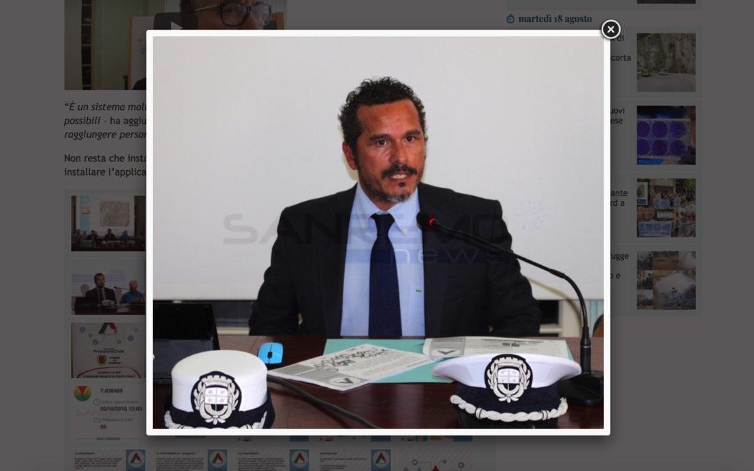 Soluzione Protezione Civile al Comune di Sanremo