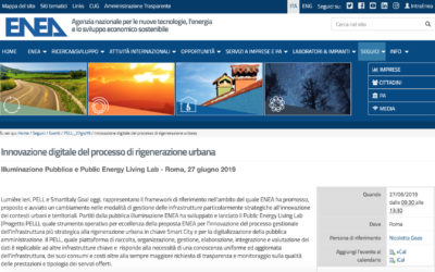 "WorkShop ""Illuminazione Pubblica e Public Energy Living Lab"""