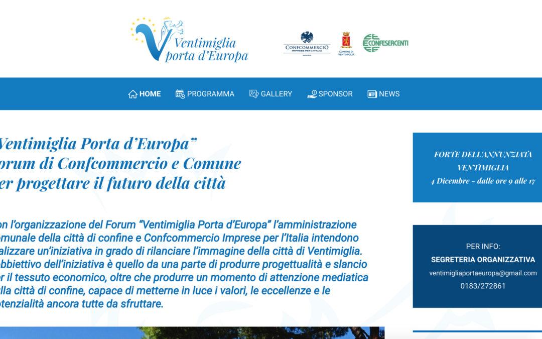 "WorkShop ""Ventimiglia Porta d'Europa"""